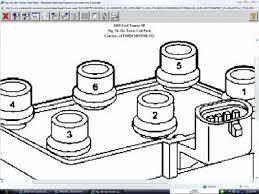2005 ford taurus sparkplug wiriing engine mechanical problem 2005