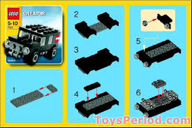 jeep instructions 7602 jeep set parts inventory and instructions reference