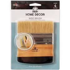 amazon com folkart home decor chalk wide brush 34910 arts