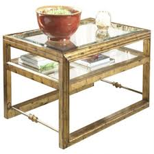 coffee table coffee table hand carved glass inlay wood accent