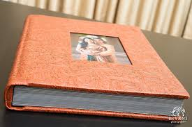 leather wedding albums leather bound indian wedding album biyani wedding photography