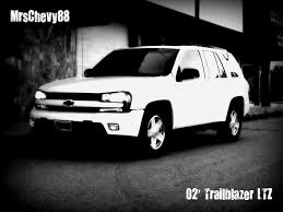 chevrolet trailblazer white mrschevy88 2002 chevrolet trailblazer specs photos modification
