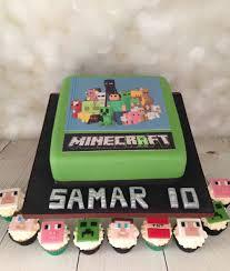 minecraft cake and cupcakes mel u0027s amazing cakes