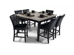 54 x 54 glass table top montibello 54 x 54 pub 7 piece set dining room sets dining