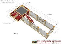 Chicken Coop Floor Plan Home Garden Plans S100 Chicken Coop Plans Construction