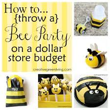 bumble bee decorations how to throw a bee party on a dollar store budget dollar stores