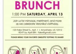 brunch invitation ideas 70th birthday invitation wording plumegiant