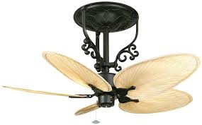 Outside Fans With Lights Ceiling Marvellous Fans With Leaf Shaped Blades Small Palm Blade