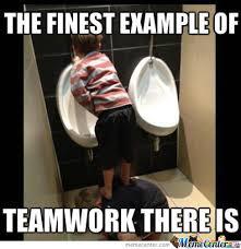 Meme Team - team work at its best by shamimnikou meme center
