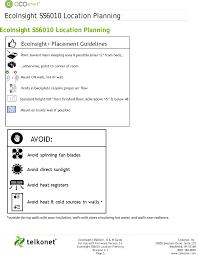 ss6010 energy management controller user manual ecoinsight iom