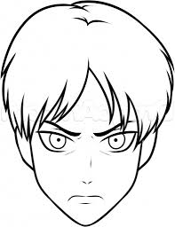 coloring page stunning easy animes to draw cute anime character