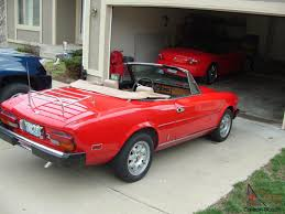 fiat 124 spider convertible 2 door 2 0l