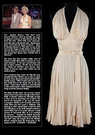 marilyn monroe u0027s dress perfect mm pinterest auction