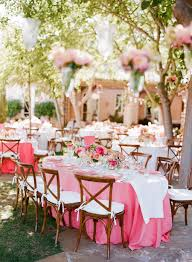 wedding decoration chic and elegant outdoor dining table