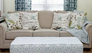 No Sew Slipcover For Sofa How To Make No Sew Pillows Mom 4 Real