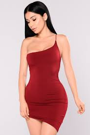 asymmetrical dress your sign asymmetrical dress burgundy