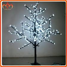 amazing lighted branch tree and banner for lighted branches