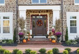 Beautiful Fall Front Door Decor