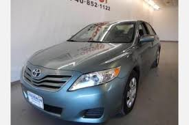 2011 toyota camry le gas mileage used toyota camry for sale special offers edmunds
