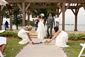 jumping the broom wedding glam lake lanier islands wedding erica antonio