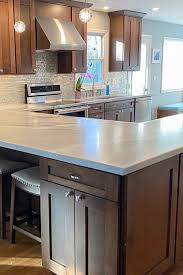 what is shaker style cabinets transitional pecan kitchen with custom touches in 2021