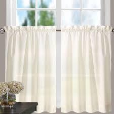 Cream Ruffle Curtains Stacey Kitchen U0026 Tier Curtains Ellis Curtain Curtainshop Com