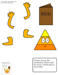 Christian Halloween Printables Candy Corn Sunday Lesson Fall Sunday Lessons
