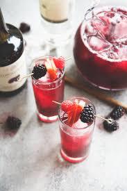 boxed wine pitcher cocktails red wine blackberry u0026 ginger