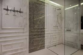 Bathroom Shower Panels by Beautiful Marble Shower Designs And The Decors That Surround Them