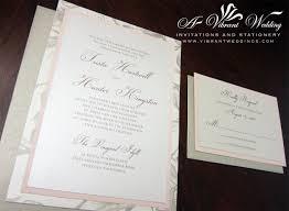 layered wedding invitations layered wedding invitations layered invitation blush pink