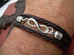 infinity bracelet leather images Infinity bracelet leather bracelet valentines day jpg