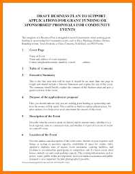 6 proposal plan template resume sections