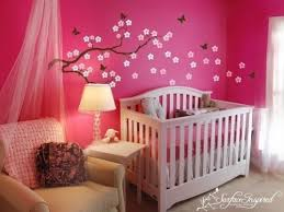 theme chambre bebe fille baby butterfly bedroom ideas