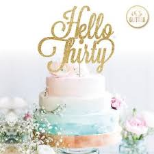 30 cake topper hello 30 cake topper age cake topper 16 21 30 thirty custom