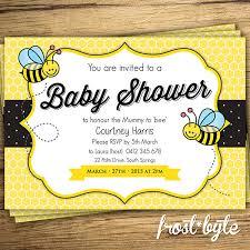 bumble bee baby shower theme bumblebee ba shower ideas ba ideas baby shower invitations bumble