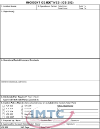 incident action plan incident action plan template business