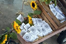 sunflower wedding favors sunflower wedding favors atdisability