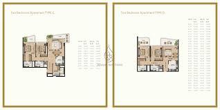 gemini splendor 1 bedroom apartment type a b floor plan