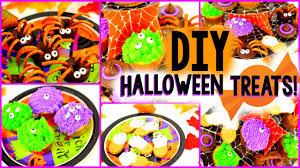 Easy To Make Halloween Snacks by Diy Halloween Treats Easy U0026yummy Youtube