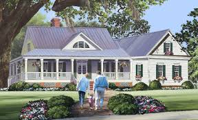 Cottage House Plan by Country Cottage With Wraparound And Bonus Room 32640wp