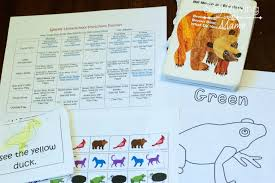 brown bear brown bear what do you see preschool lesson plans