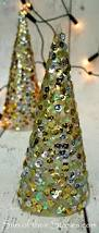 sequin christmas trees sum of their stories