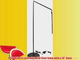 koncept ar5000 c mbk flr z bar led floor lamp cool light metallic