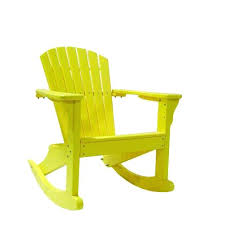 Yellow Plastic Adirondack Chair Recycled Plastic Rocking Chairs C Style Plastic Rocking Chair