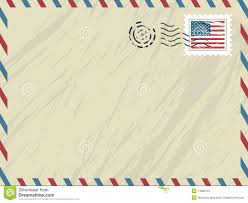 airmail post envelope stock vector image of open avia 27288211