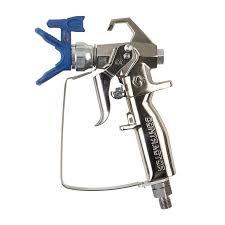 paint sprayer graco airless paint sprayer gun new contractor with rac x 517 tip