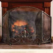 fireplace screens home depot surrounds for inserts wood decor screen decorating sparks