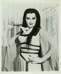 Munsters Halloween Costumes Yvonne Carlo Aka Lily Munster Cat Dog