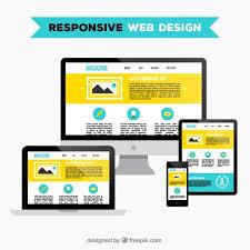 website design free responsive web design vector free