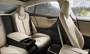 tesla updates model s interior with new back seats electrek
